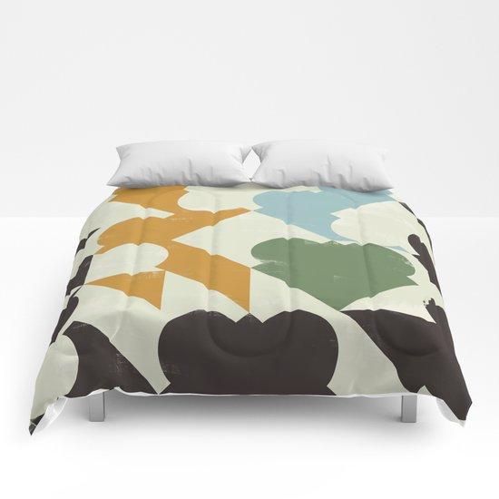 Retrometry II Comforters