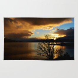 Sunset in Scotland Rug