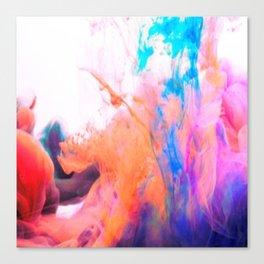 smokey paint splash Canvas Print