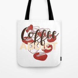 Coffee Addict Tote Bag