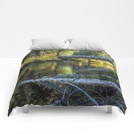 Fall at Clear Lake, No. 1 Comforters