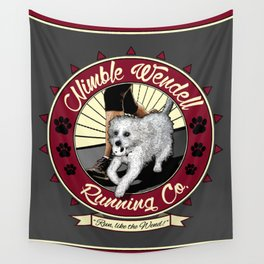 Nimble Wendell Running Co. (Contemporary Logo) Wall Tapestry