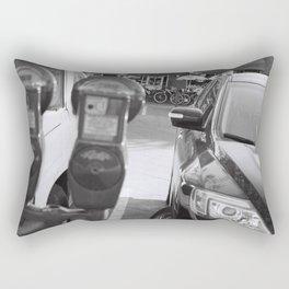 Parking Meter Rectangular Pillow