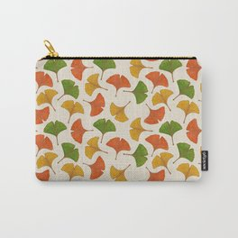Fall ginkgo biloba leaves pattern Carry-All Pouch