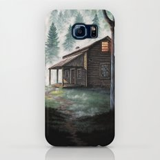 Cabin in the Pines Slim Case Galaxy S6