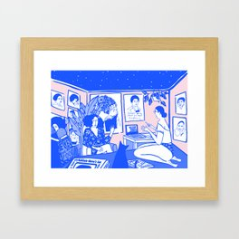 Mama's Gun Framed Art Print