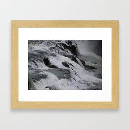 movement of water Framed Art Print