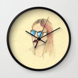 Sky in the eye Wall Clock