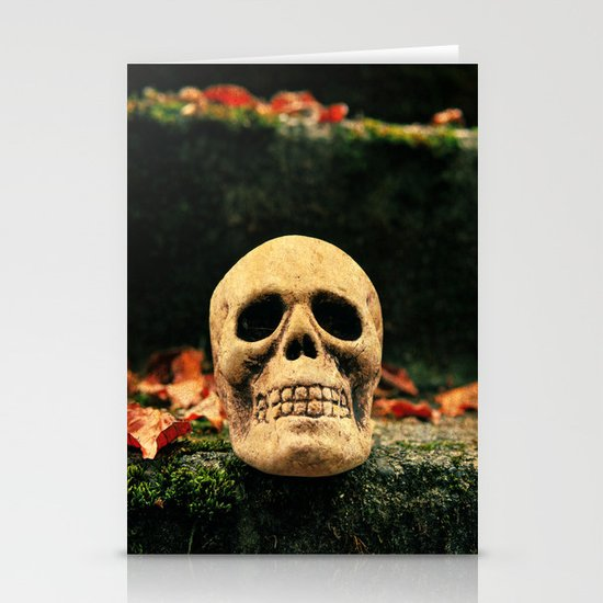 Stairway skull Stationery Cards
