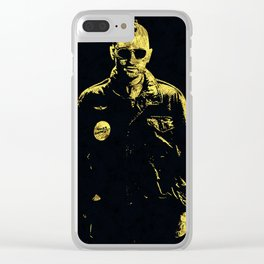 Taxi Driver - The Legend Clear iPhone Case