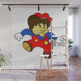 Jump Man Shigeru Miyamoto Wall Mural