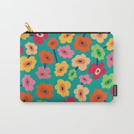 BP 13 Flowers Carry-All Pouch