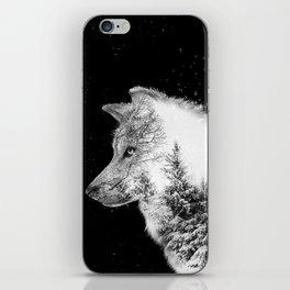Winter Wolf iPhone Skin