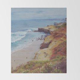 La Jolla Shores Throw Blanket