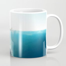 First And Last Swim Of The Day Coffee Mug