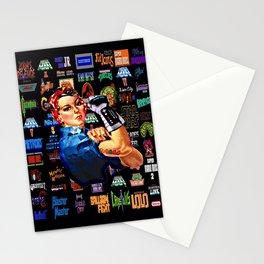 Power glove Stationery Cards