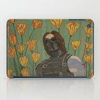 the winter soldier iPad Cases featuring the winter soldier by atomickohl