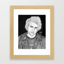 Mikey clifford drawing Framed Art Print