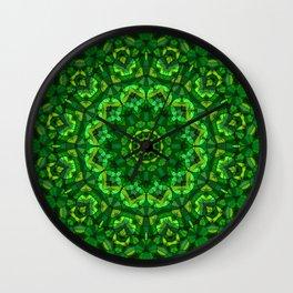 Kaleidoscope , mandala , ornament 14 Wall Clock