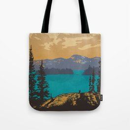 Killarney Park Poster Tote Bag