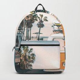 Surf Van Venice Beach California Backpack