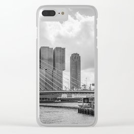 Rotterdarm cityscape Clear iPhone Case