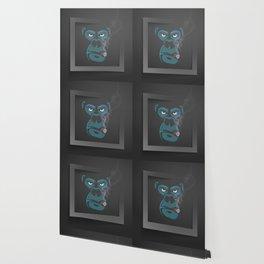 Angry Smoked Gorilla Wallpaper