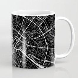 Berlin, Germany, City Map - Black Coffee Mug
