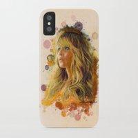 jennifer lawrence iPhone & iPod Cases featuring Jennifer Lawrence II by Rene Alberto