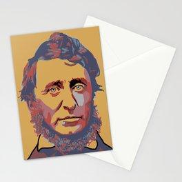 Henry David Thoreau Stationery Cards