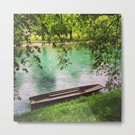 Swiss lake Metal Print