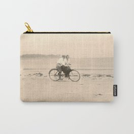 Love on a Bicycle Carry-All Pouch