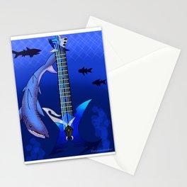 Keyblade Guitar #25 - Abyssal Tide Stationery Cards