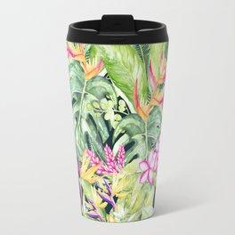 Tropical Garden 1 #society6 Travel Mug