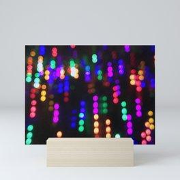 Night Lights in December no. 2 Mini Art Print