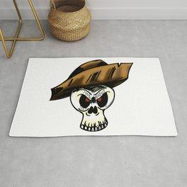 Pirate Skull Color Rug