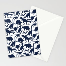 Little Dinosaur Friends - indigo Stationery Cards