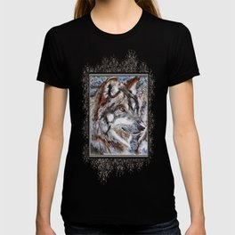 Gray Wolf Watches and Waits T-shirt
