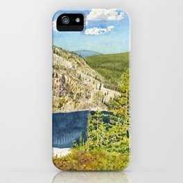THE HIGH COUNTRY iPhone Case