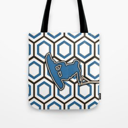 Wakeboard Stunt Water Sports Pattern Design Tote Bag