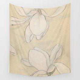 Magnolias Wall Tapestry