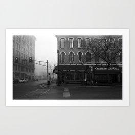 Corner Grind Art Print