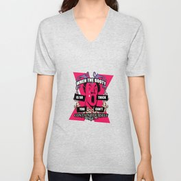 Can't Contain Yourself Unisex V-Neck
