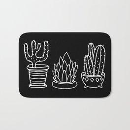 Plants in Pots Bath Mat