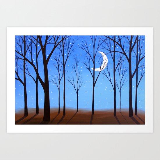 Crescent Art Print