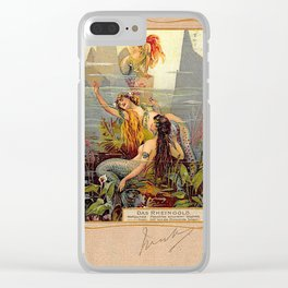 Das Rheingold Gold of Rhein Clear iPhone Case