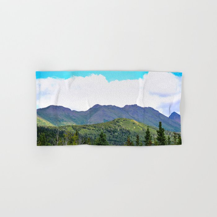 The Mountains Are Calling . . . Hand & Bath Towel