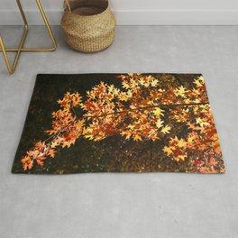 Autumn Leaves Display Rug
