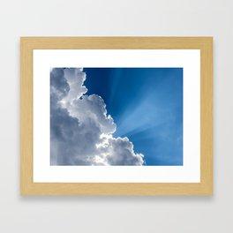 Nimbus Beam Framed Art Print