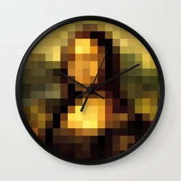 The Lady Wall Clock